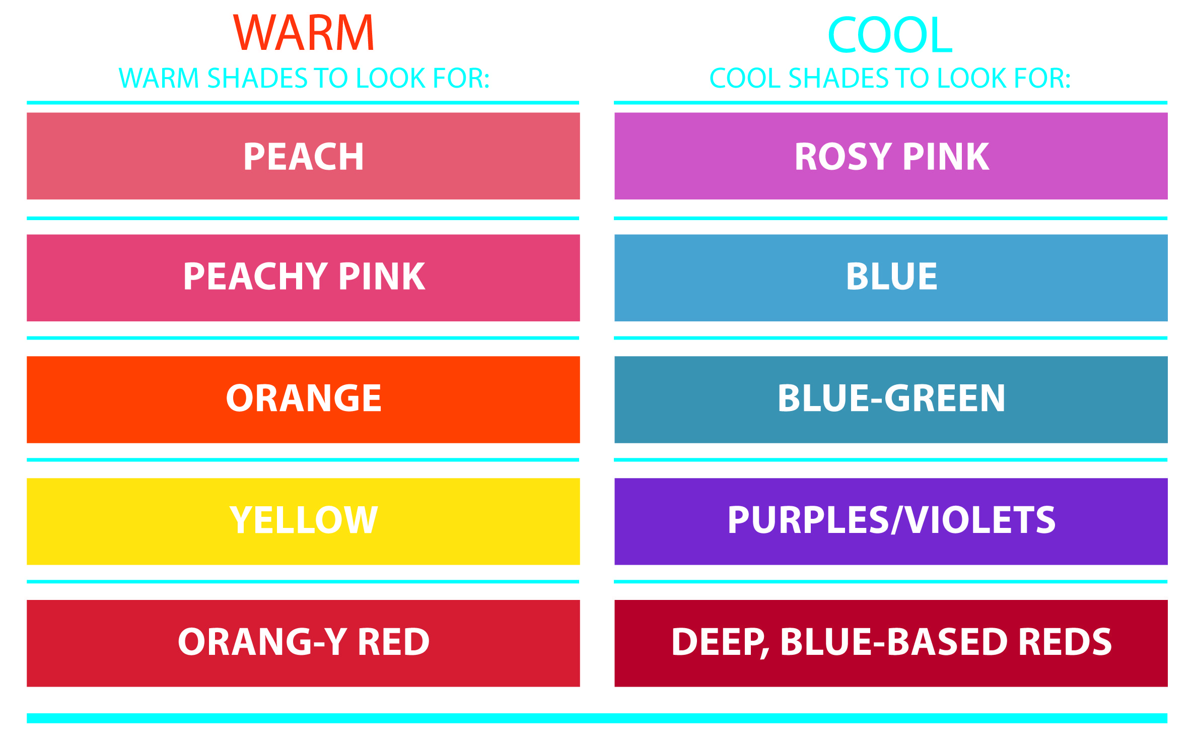 Color Chart For Lipstick