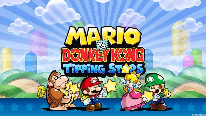 Mario vs Donkey Kong Wallpaper (con imágenes)