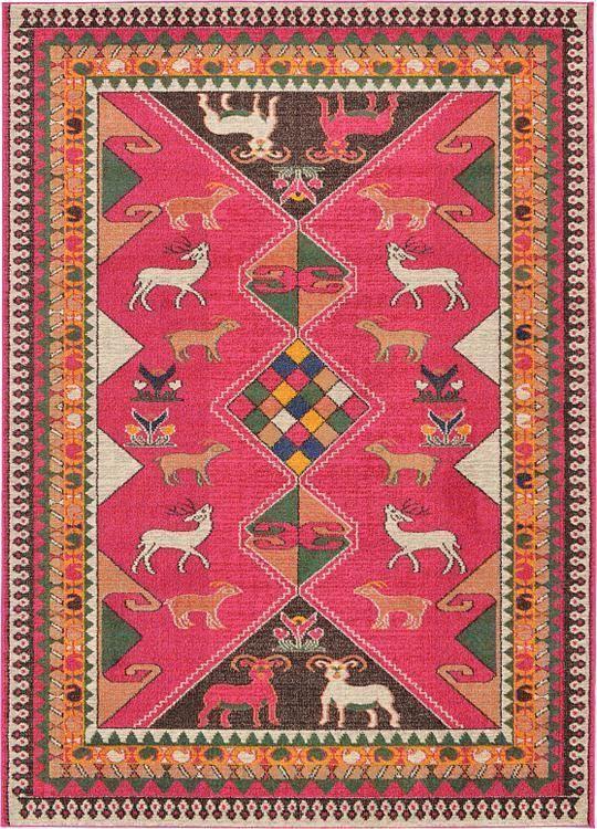 Pink Santa Fe Area Rug | Ideas for the House | Pinterest | Santa fe ...