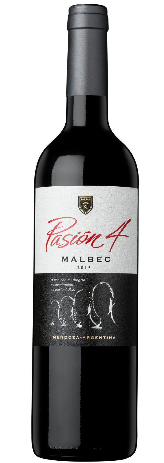Pasion 4 Malbec Merlot Malbec Etiquetas De Vino