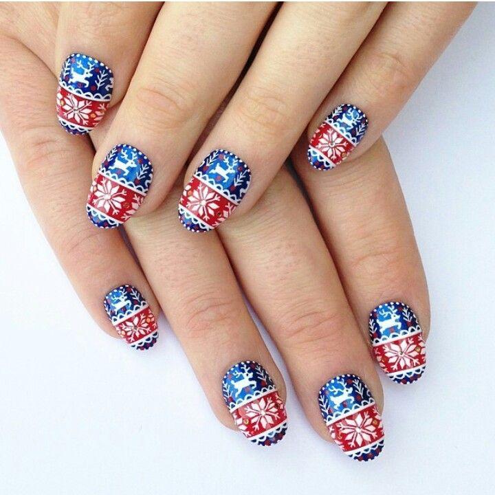 Christmas nails!
