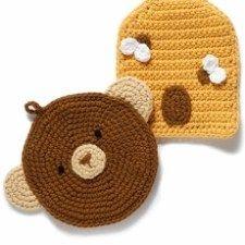Free Crochet Potholder Patterns #crochetpotholderpatterns Free Crochet Potholder Patterns #crochetpotholderpatterns