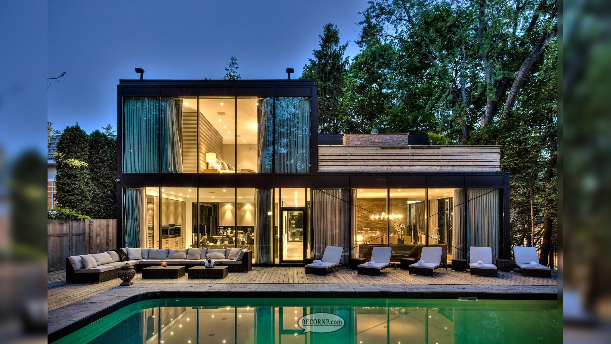 Top 10 Ideas For House Designing Interior In 2019 Decornp Glass House Design Glass House Small House Design Kerala