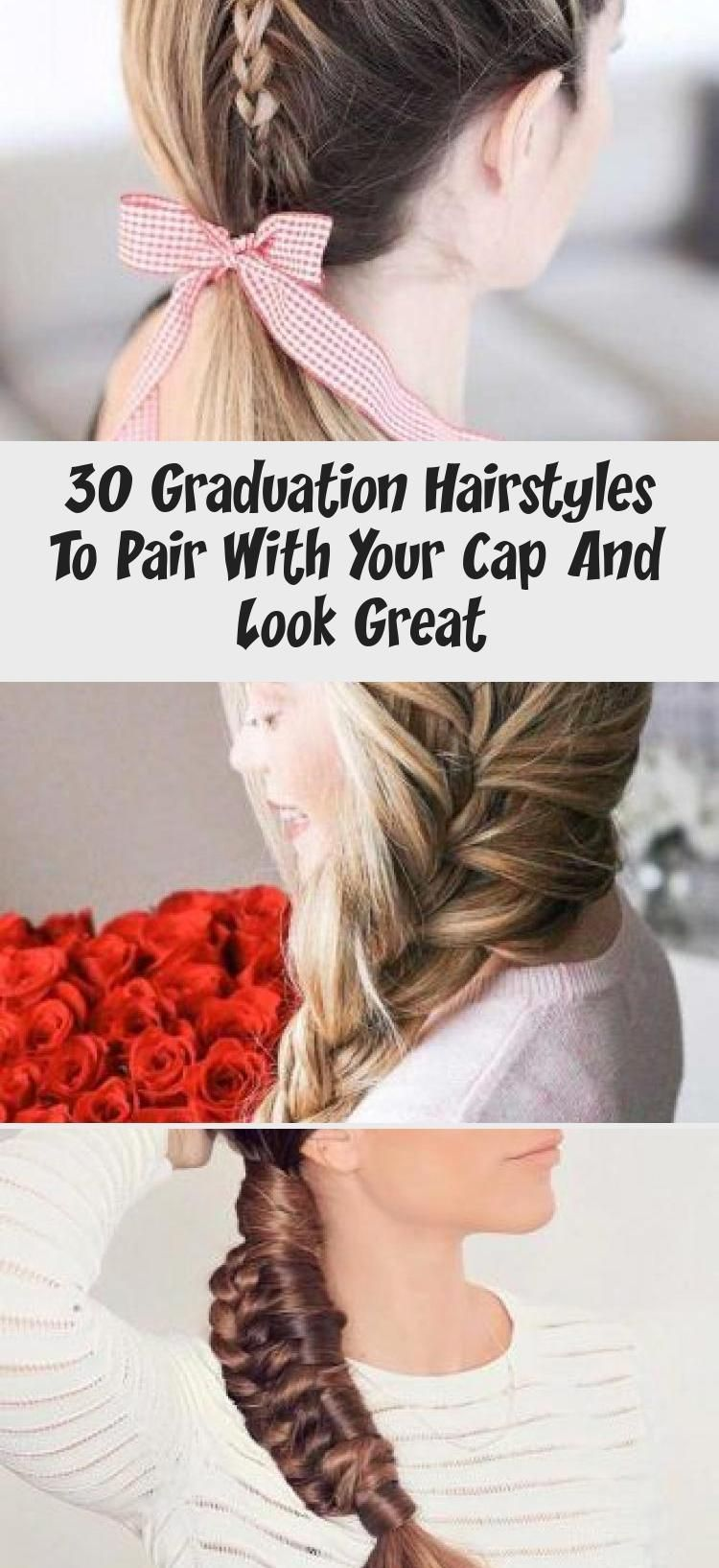 30 Graduation Hairstyles To Pair With Your Cap And Look Great Graduation Hairstyles To Pair With Your Cap And Look Great