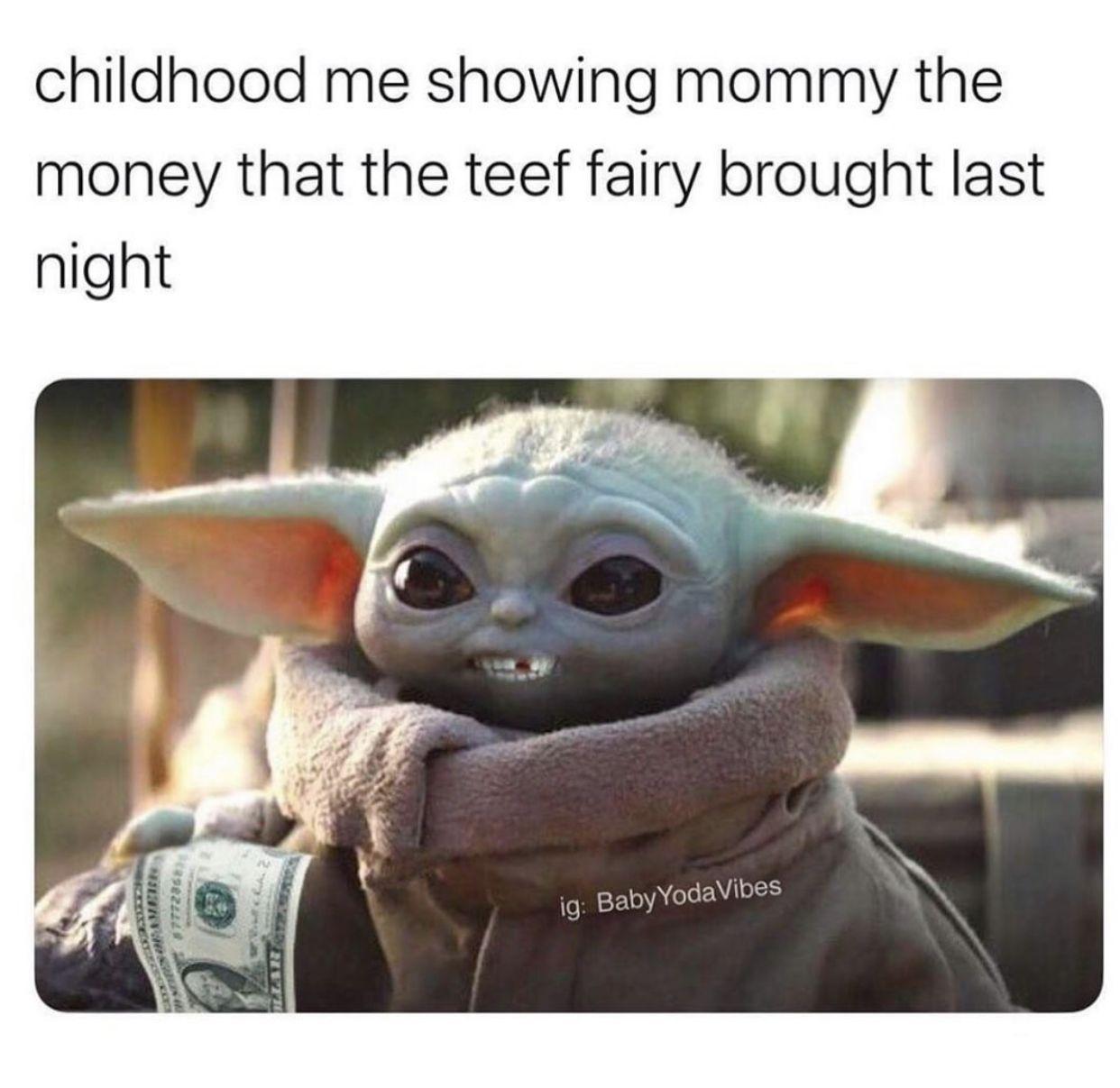 Pin By Reba On Quotes Etc Yoda Funny Baby Memes Yoda Meme