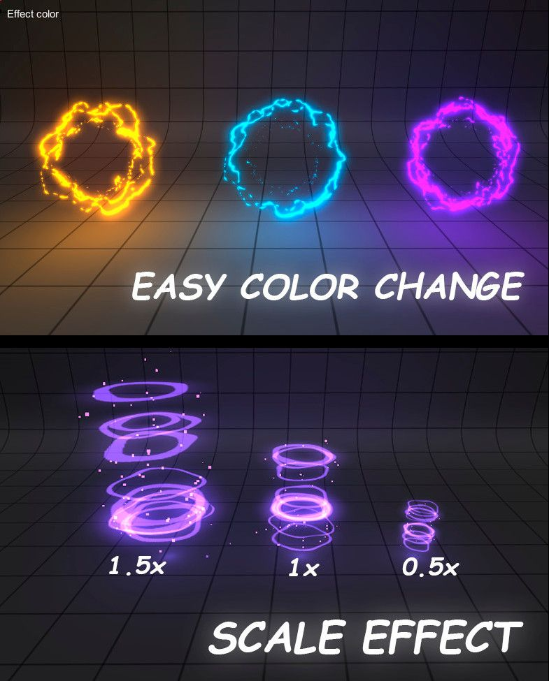Cartoon #Effects 1 #Particle #Systems - Optimized for mobiles and PC