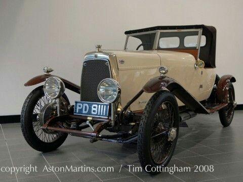 1924 B M Side Valve Boat Tail 3 Seater Aston Martin Pinterest