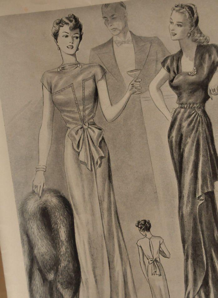 Modes Royale patterns, SS '44
