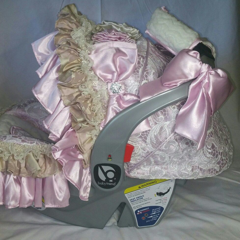 Beautiful Large Baby Toddler Girl Vintage Style Diaper Bag Light