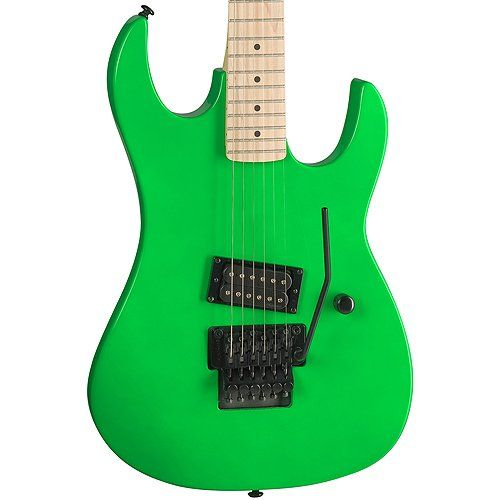 b c rich gunslinger retro electric guitar neon green at electric guitars. Black Bedroom Furniture Sets. Home Design Ideas