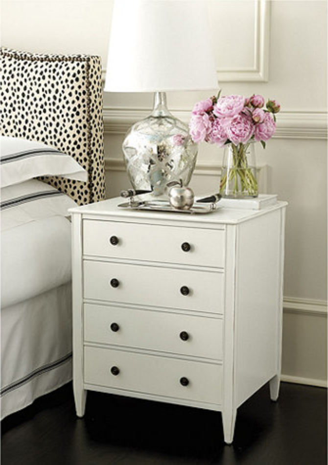Sidney 4 Drawer Side Table In 2019 Tables Bedroom