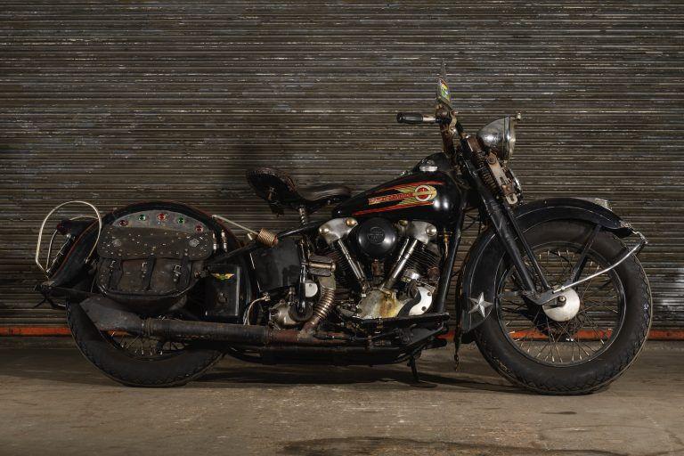 The Black Keys Dan Auerbach S Vintage Harley Davidson Collection On Display Vintage Harley Davidson Motorcycles Vintage Harley Davidson Vintage Harley