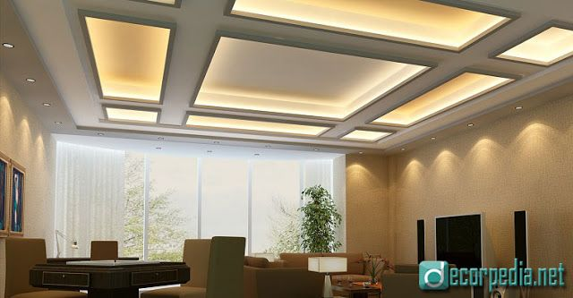 Latest false ceiling design ideas for modern interior room with led also rh pinterest