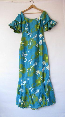 vintage 1950\'s muumuu maxi | Beautiful Muumuu\'s Style | Pinterest