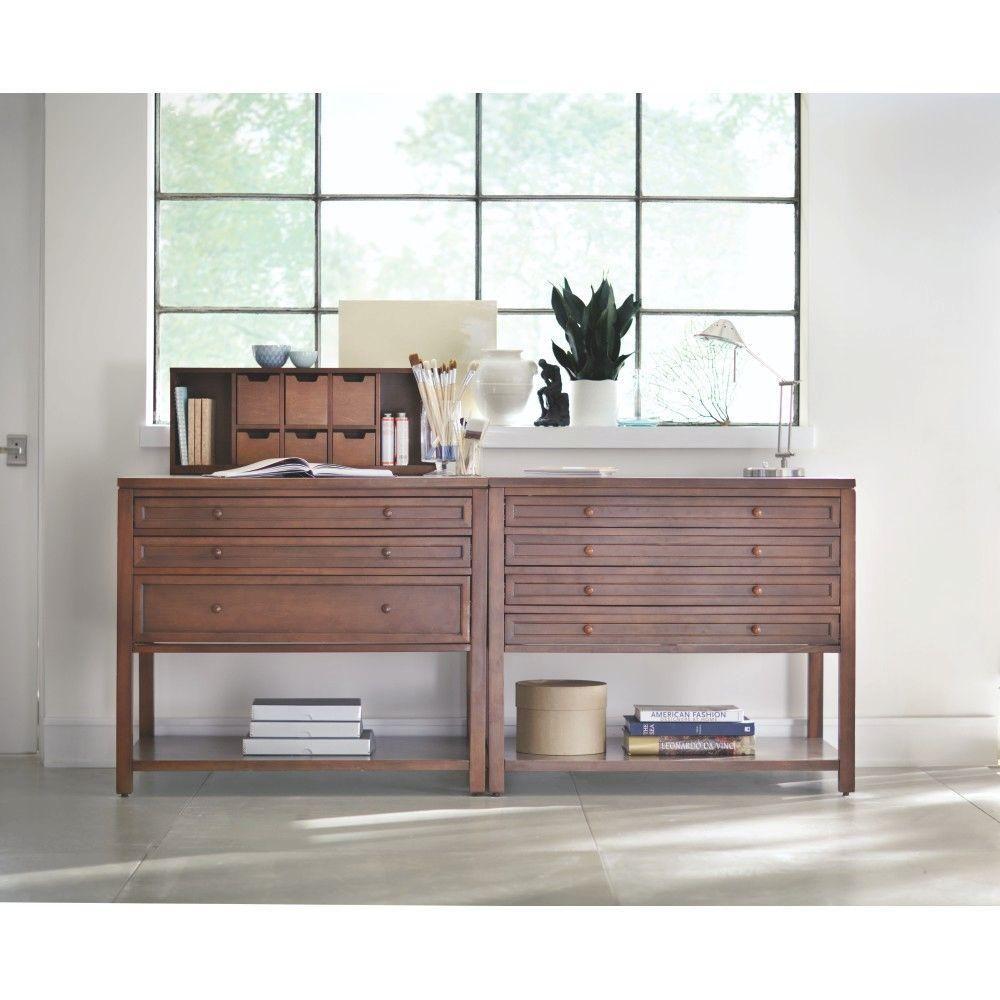 Martha Stewart Living Craft Space 42 In. W 3 Drawer Flat File Cabinet