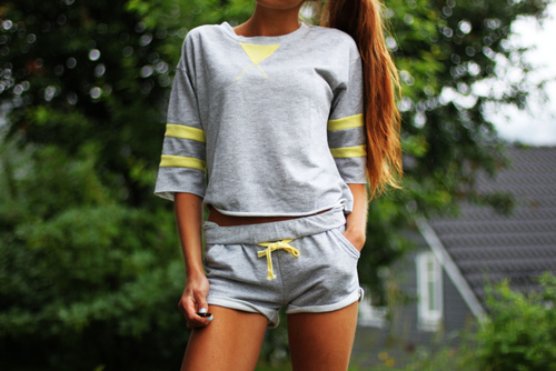 grey yellow combination
