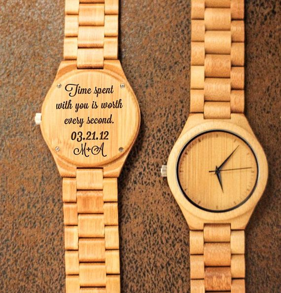 Wood Engraved Watch W71 Gift For Him Fathers Day Gift Etsy In 2020 Watch Engraving Gifts For Him Watch Engraving Ideas