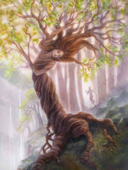 Ilustração para Dafne, de Pamela Francisco. | Ilustrações