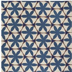 Capel Rugs Charlotte Blue Wool Rug