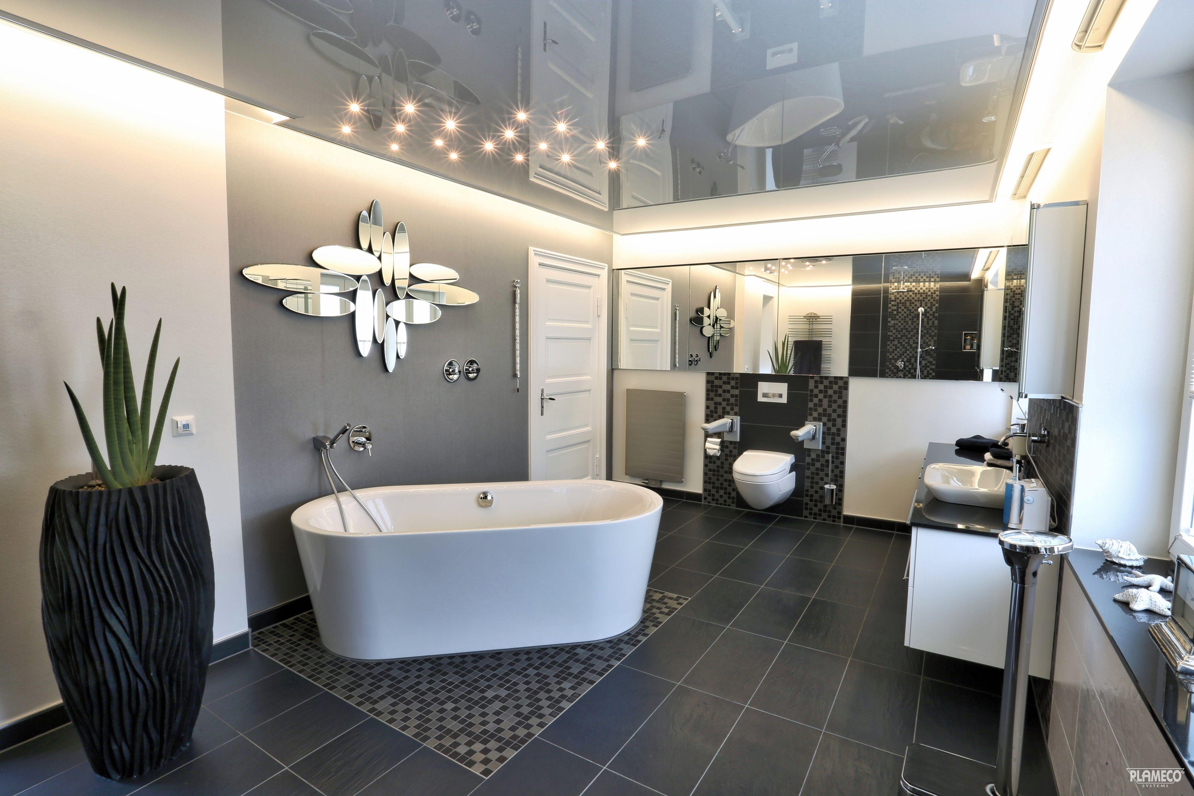Spanplafond in de badkamer Spanndecke von Plameco als ...