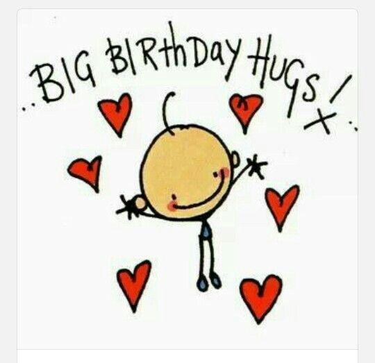 Birthday Hug, Happy Birthday