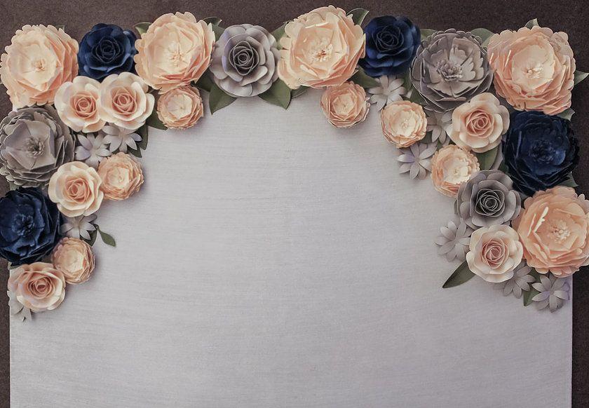 Designs Paper Flowers Paper Flower Backdrops Weddingevent Decor