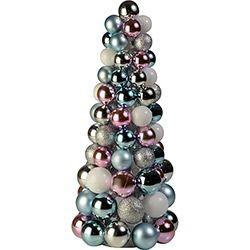 Arvore De Mesa Candy Colors 38cm Orb Christmas Christmas