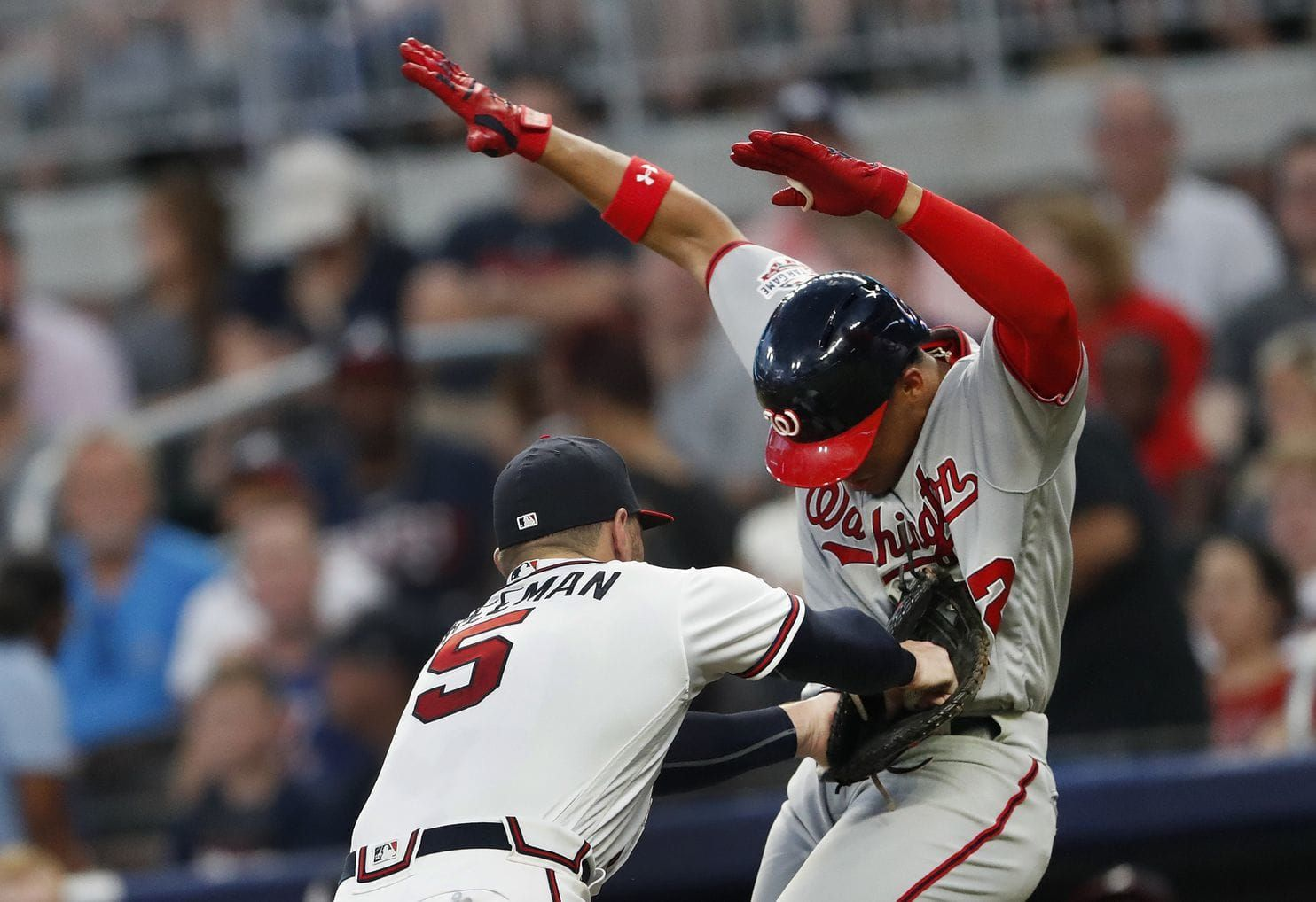 Nationals Step Up In Competition And Falter In Loss At Atlanta Atlanta Braves Atlanta Atlanta Braves Competition