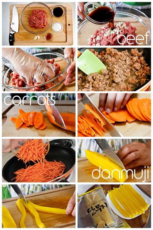 Beef Kimbap Food Easy Meals Kimbap