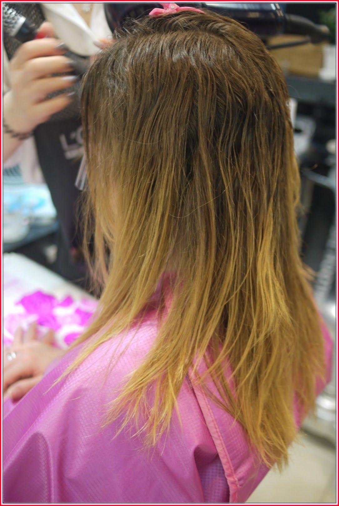 Wet hair looks thinner