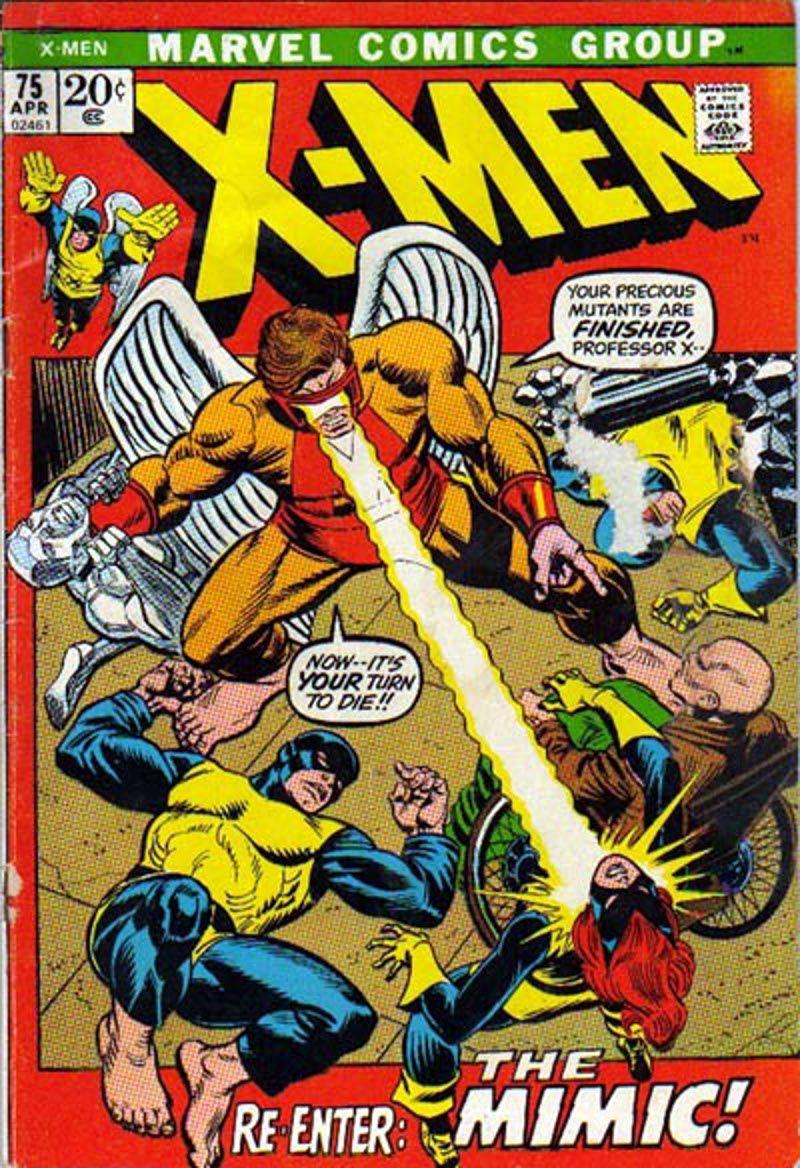 X Men Vol 1 75 Marvel Comics Covers Comic Books X Men