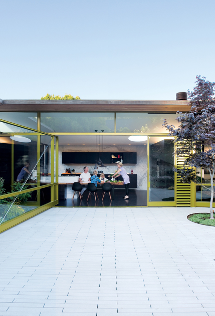 Dwell founder Lara Hedberg Deam + her family's home in Mill Valley,  California. Photo