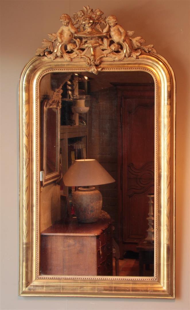 Antieke Franse Spiegel.Antieke Spiegels Antieke Spiegel Antieke Franse Spiegels
