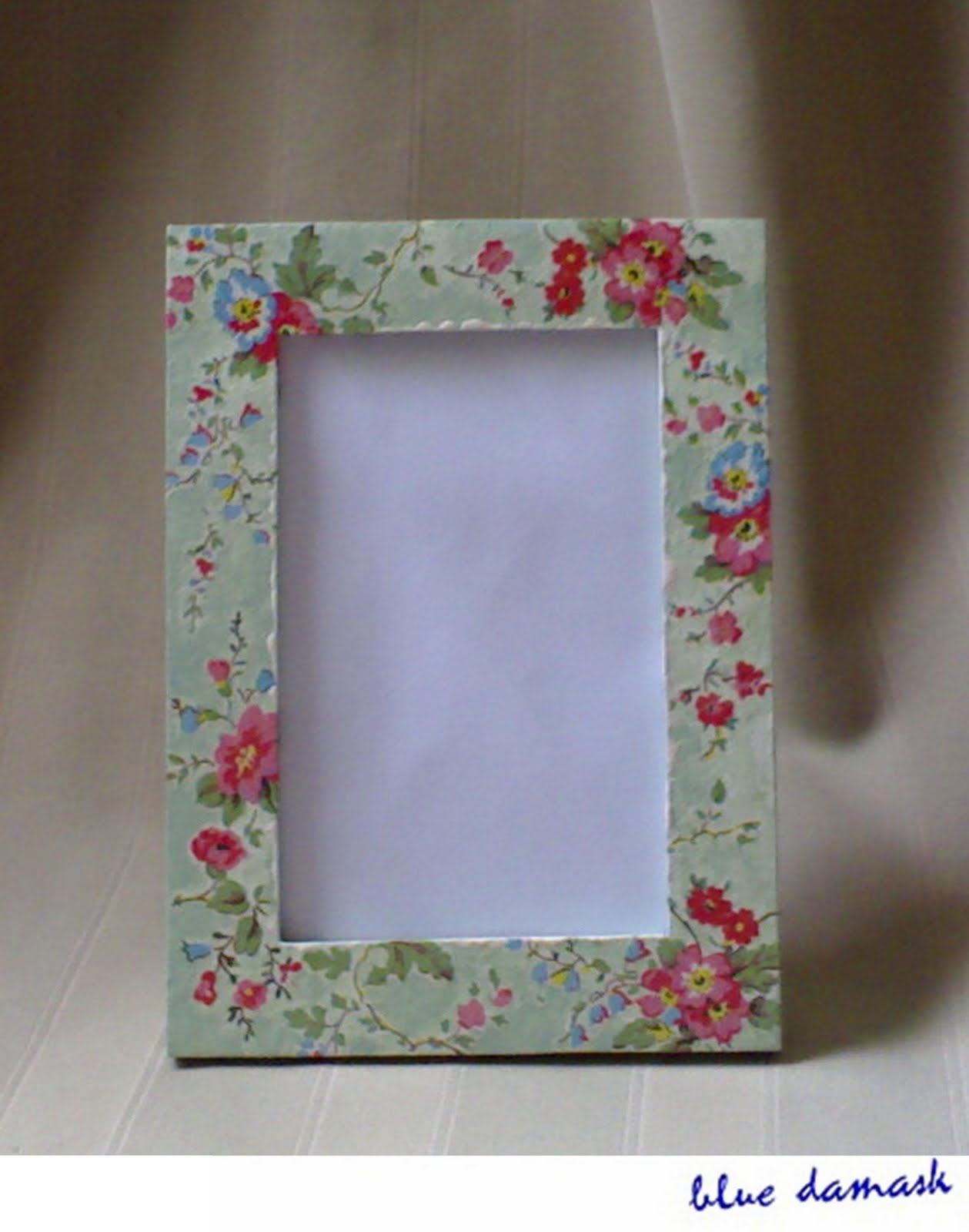 Decoupage Picture Frame Ideas   Frameviewjdi.org