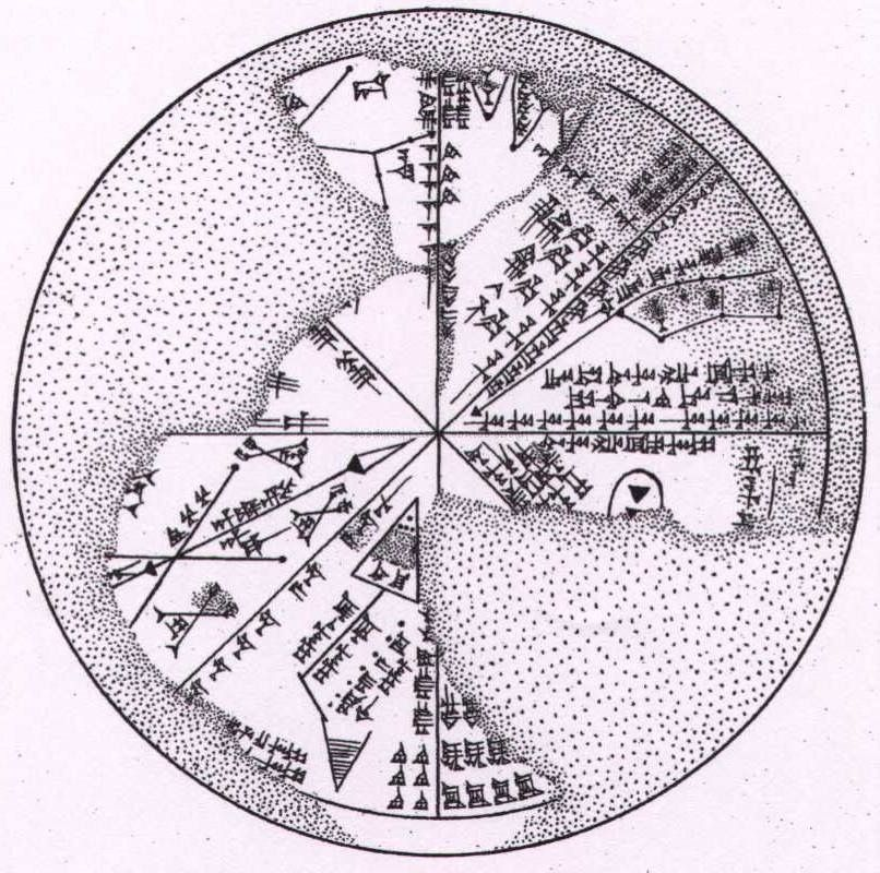 Sky Map   The Sumerian Planisphere (The star chart   The