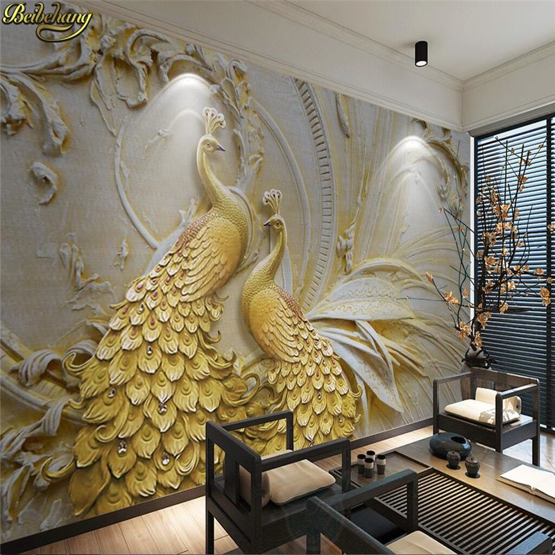 Beibehang Large Custom Wallpapers Mural High Grade Wood Grain Mosaic Floor Tiles Photo Wallpaper Papel Parede Papier Peint Wallpapers