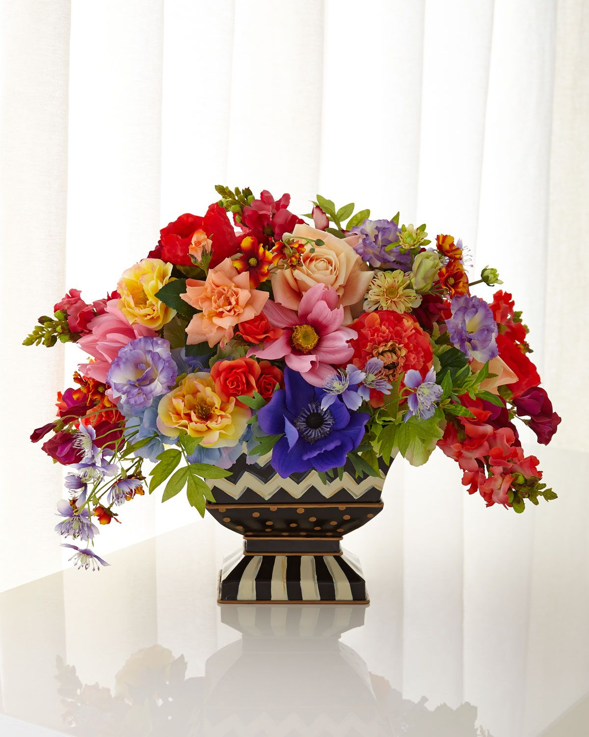 Centerpiece Bouquet By MacKenzie-Childs - love this whimsical floral ...