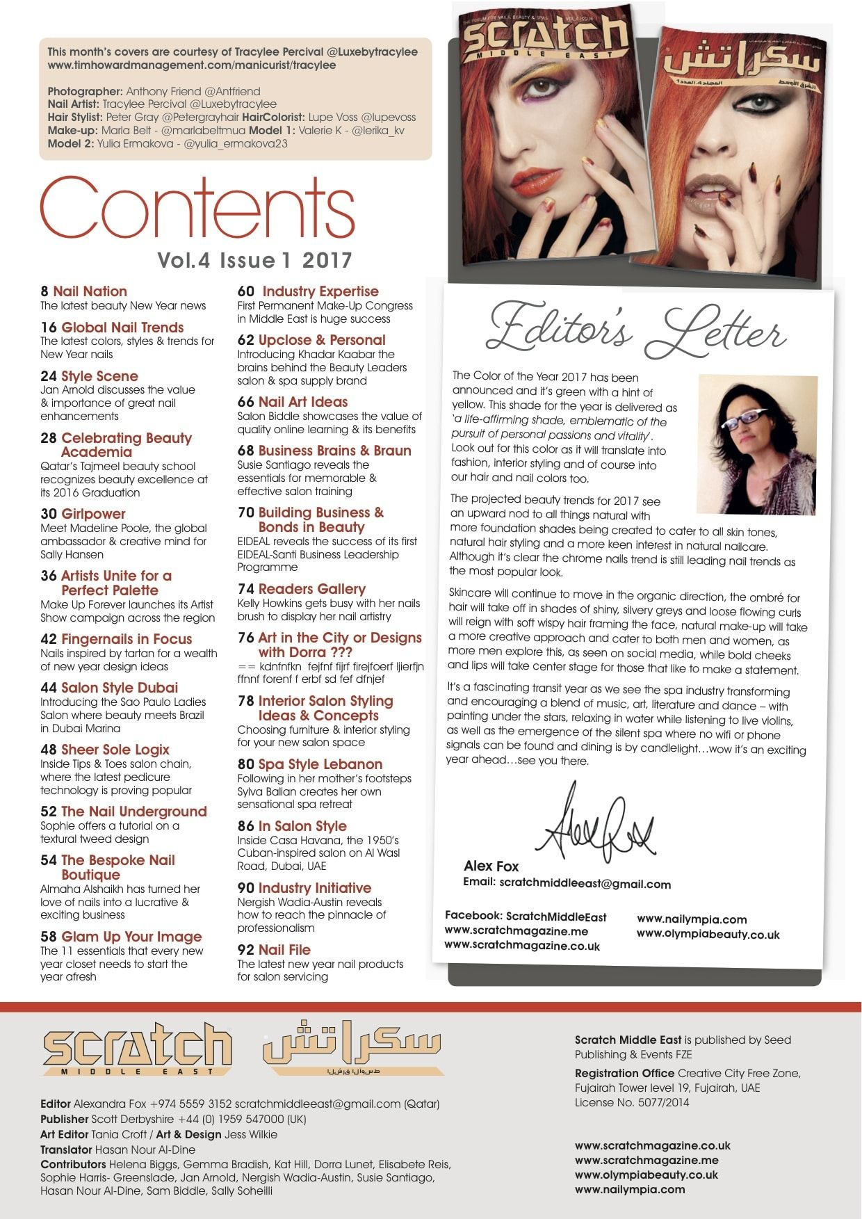 A New Year & A new magazine …Happy Reading …   NAIL IMAGERY THAT ...