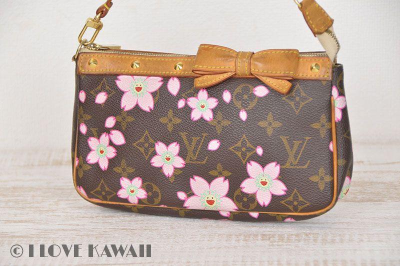 Louis Vuitton Monogram Cherry Blossoms Pochette Accessoires M95006