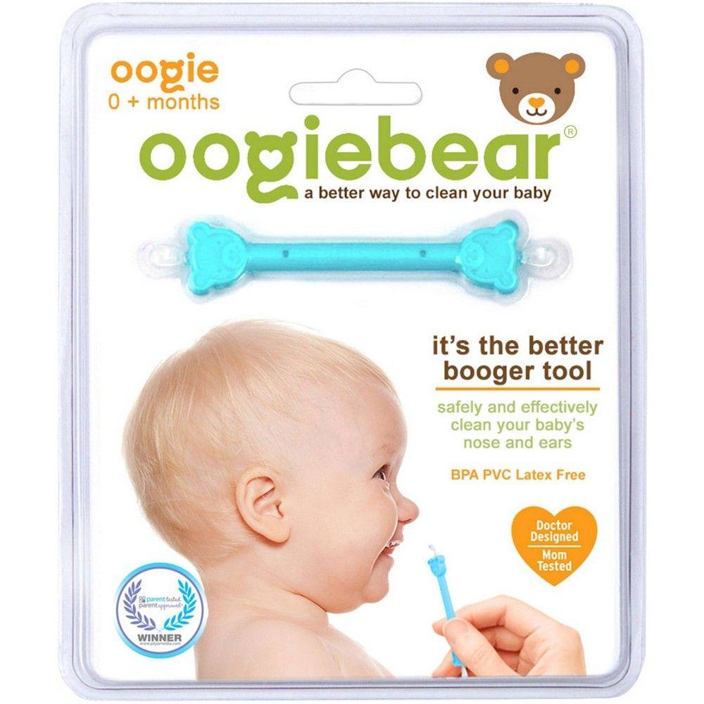 oogiebear The Better Booger Tool Nose & Ear Cleaner - Blue ...