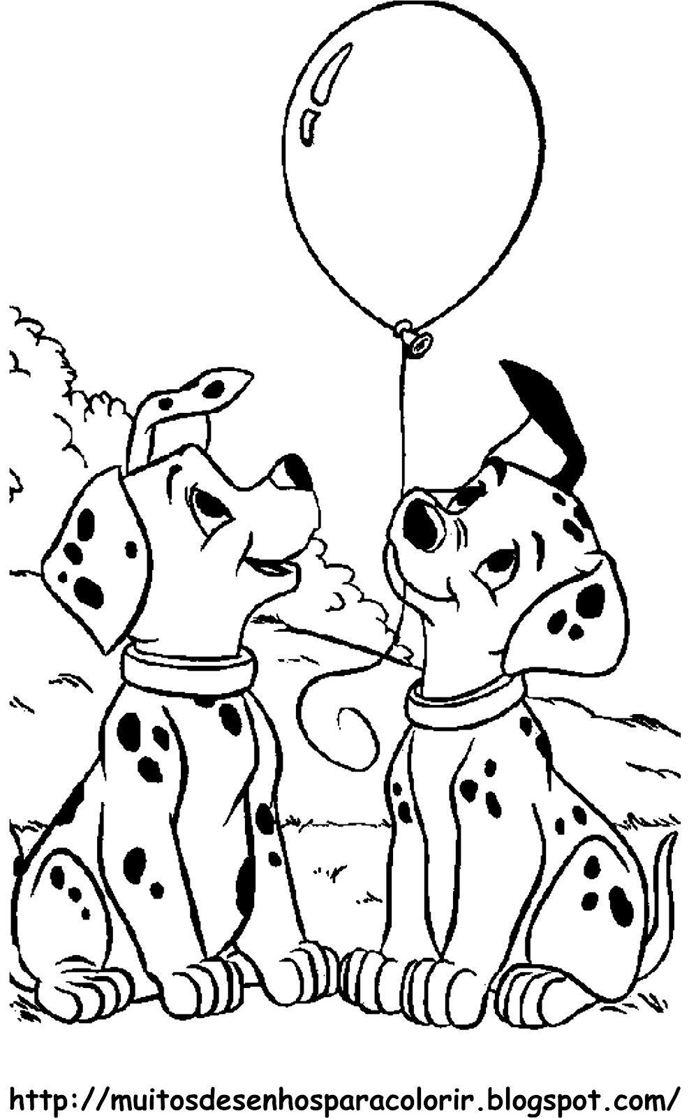 Desenhos Dos 101 Dalmatas Pampekids Net Com Imagens 101