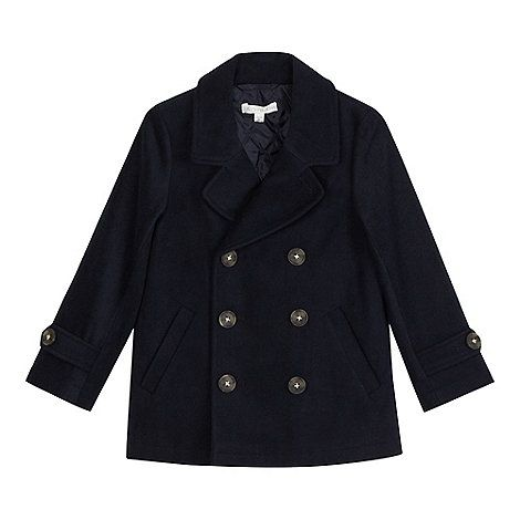 Boys' navy pea coat | Coats, Boys and Pea coat