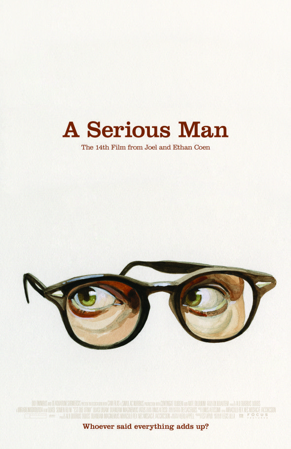 Image result for a serious man poster
