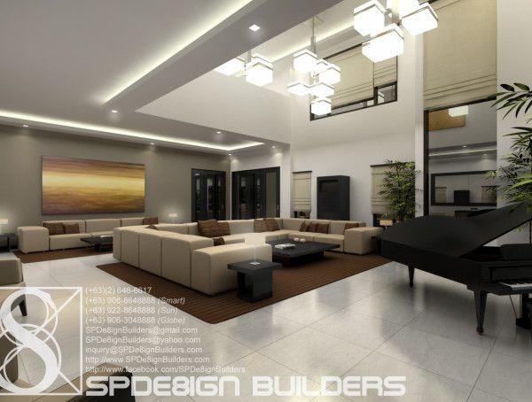 Residential Interior Design Ayala Heights Spde8ign Builders