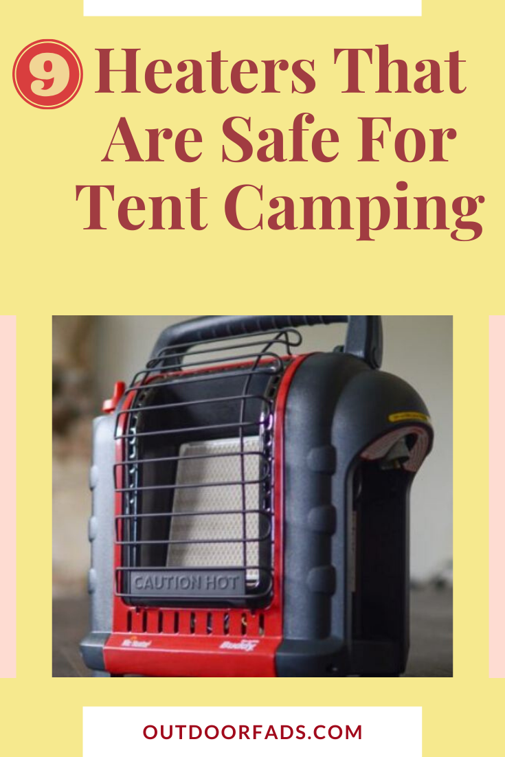 safe camping gas heaters for tents