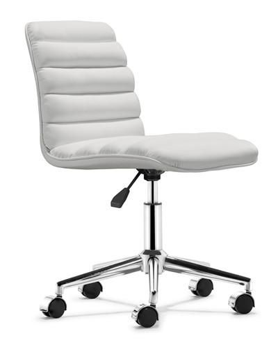 white modern office chair white rolling. \ White Modern Office Chair Rolling K