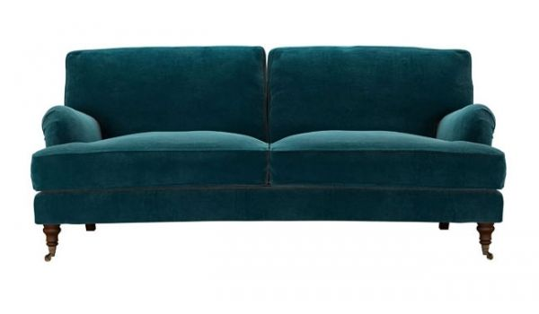 Bluebell sofa traditional english roll arm couch in deep for Divano wonder