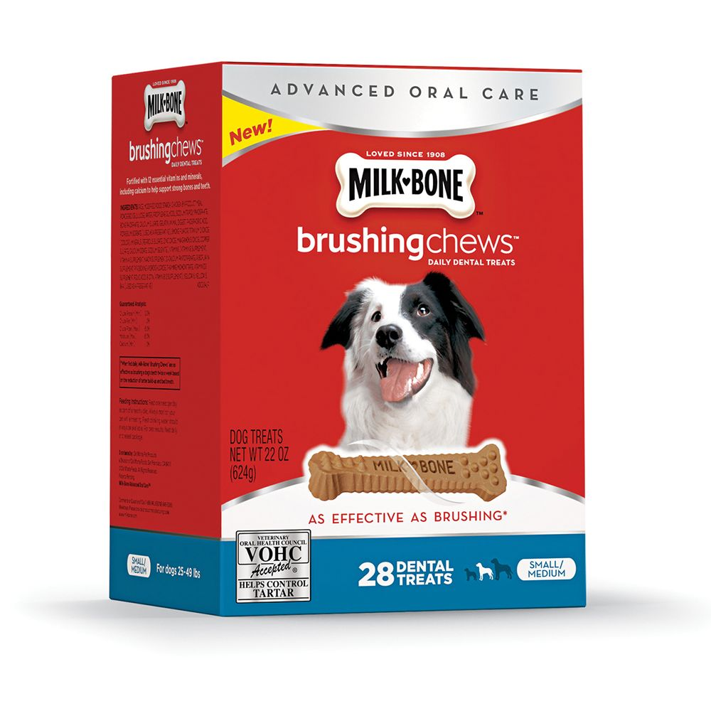 Milk Bone Brushing Chews Dental Treats Products Dog Treats