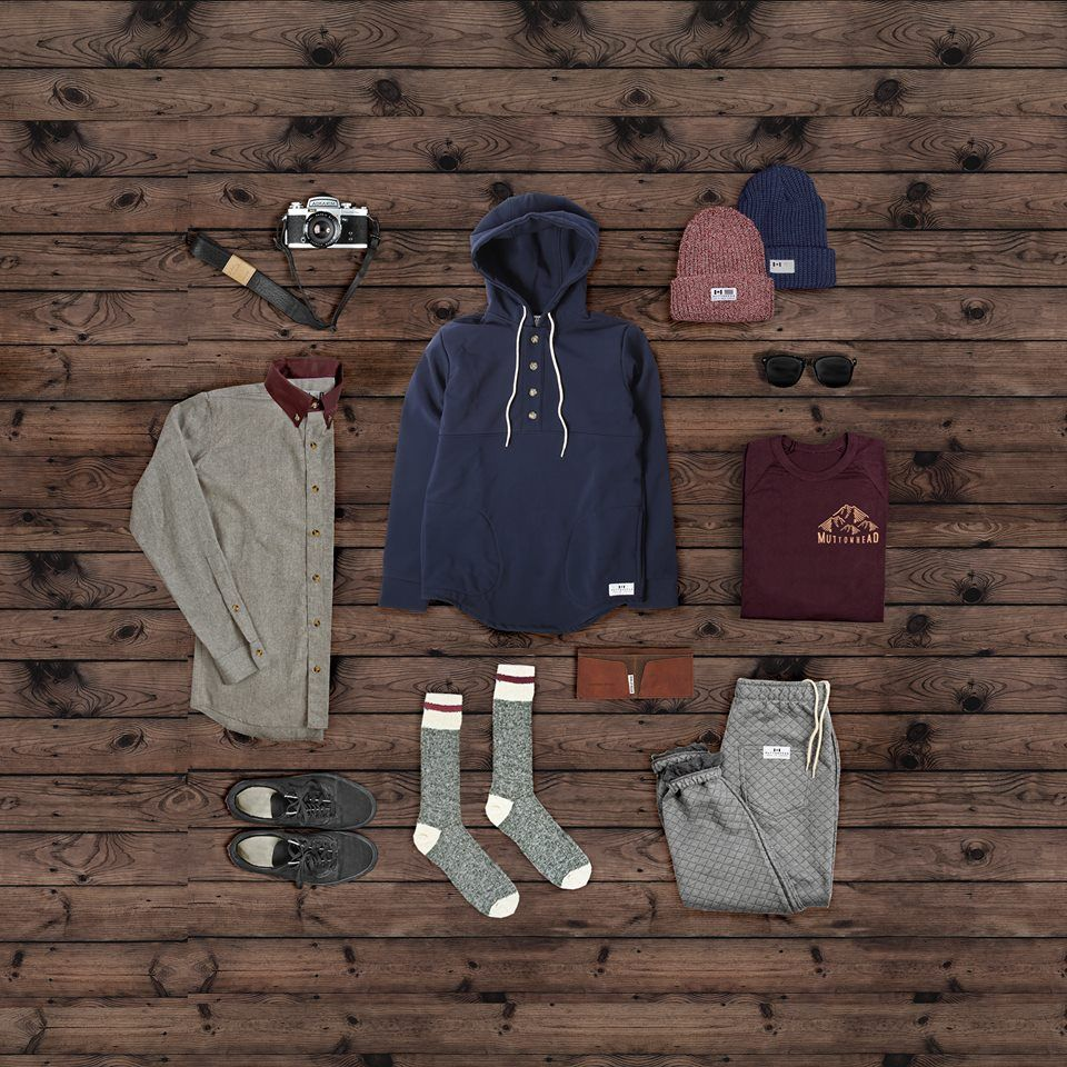 Great day for the Waterproof Rain Camping Hoodie ☔ Also featuring the Recycled Hemp Work Shirt, Chunky Knit Toques, Quilted Sweatpants, Mtn. Socks, Backwoods Tee and Leather Camera Strap by  @shop_jolielaide Available at : www.muttonheadstore.com #MadeInCanada #SweatshopFree