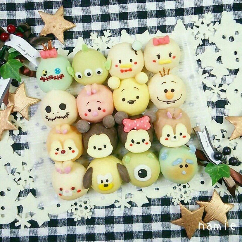 Tsum tsum steamed buns